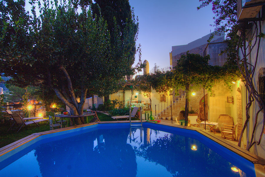 Outdoors - The swimming pool within the beautiful garden of the villa